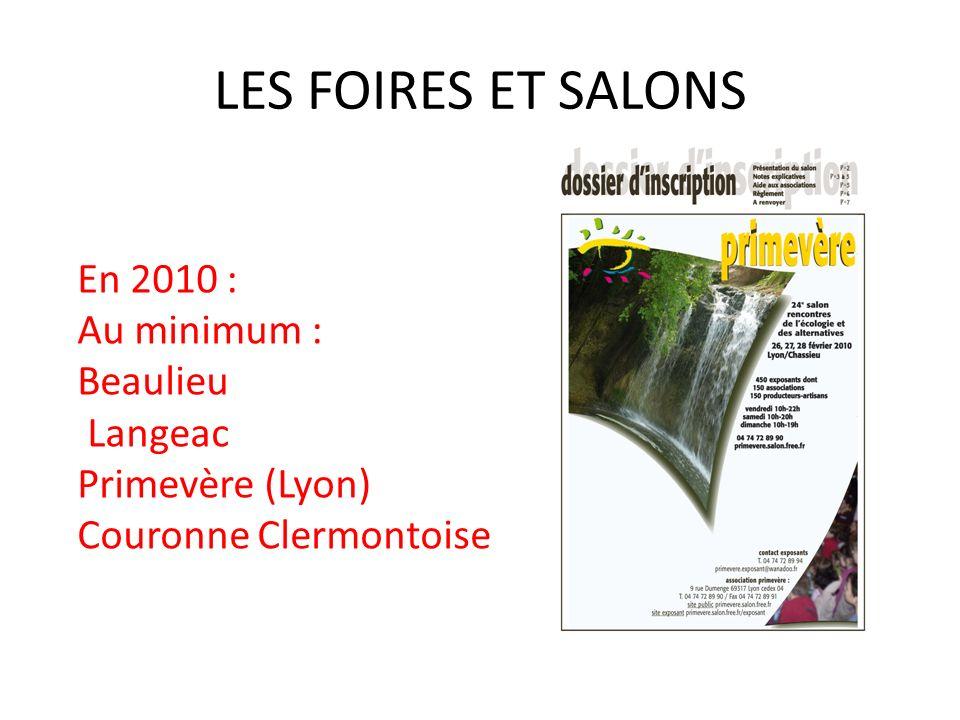 LES VISITES 2 en 2009 Les Jardins de lOasis (28 mars) – Saint-Just-Saint-Rambert La maison des Granger (21 juin) Monistrol-sur-Loire