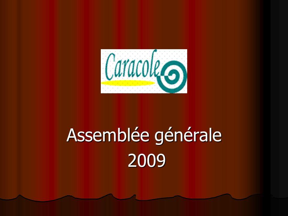 Assemblée générale 2009 2009