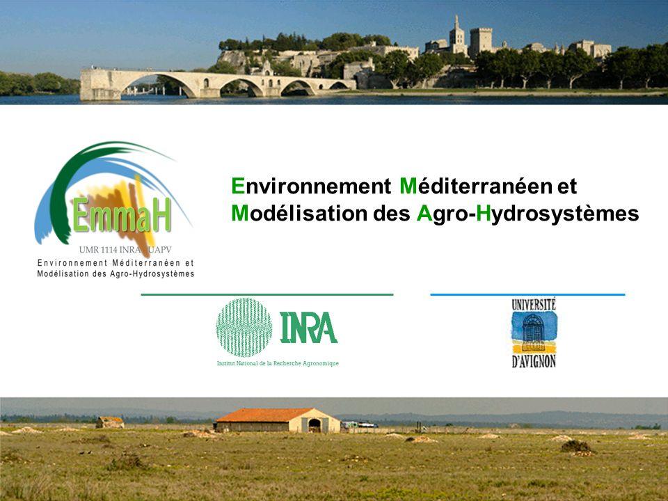 Environnement Méditerranéen et Modélisation des Agro-Hydrosystèmes