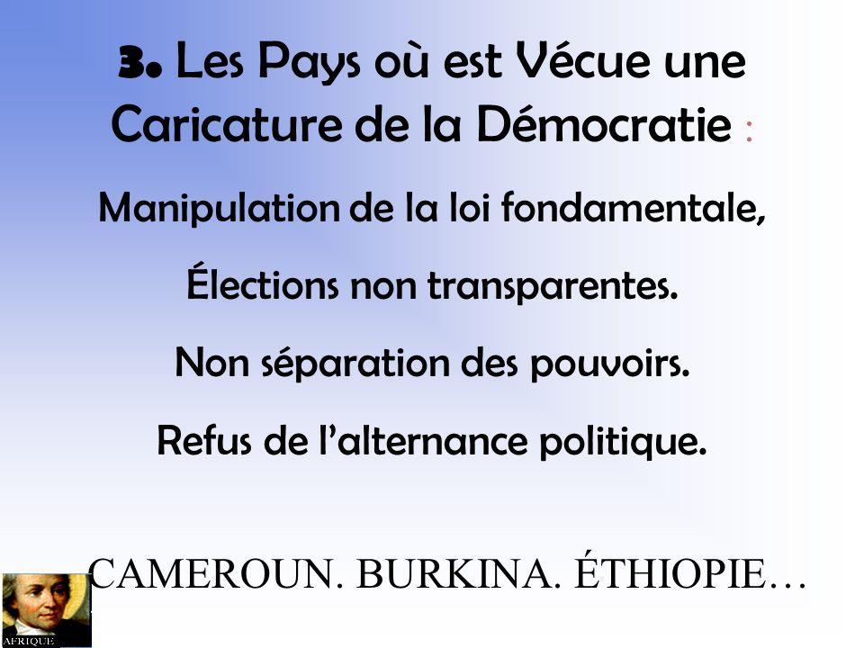 CONGO-KINSHASA CÔTE DIVOIRE RWANDA TCHAD… 2.