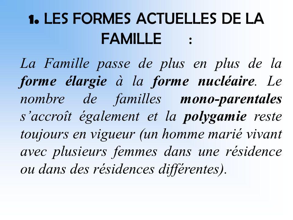 II- FAMILLE