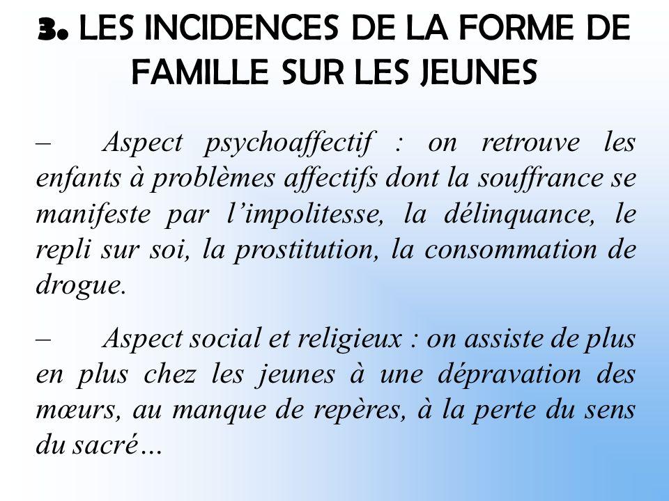 2. LES SUBSTITUTS FAMILIAUX Dautres instances suppléent aux défaillances de la famille normale.