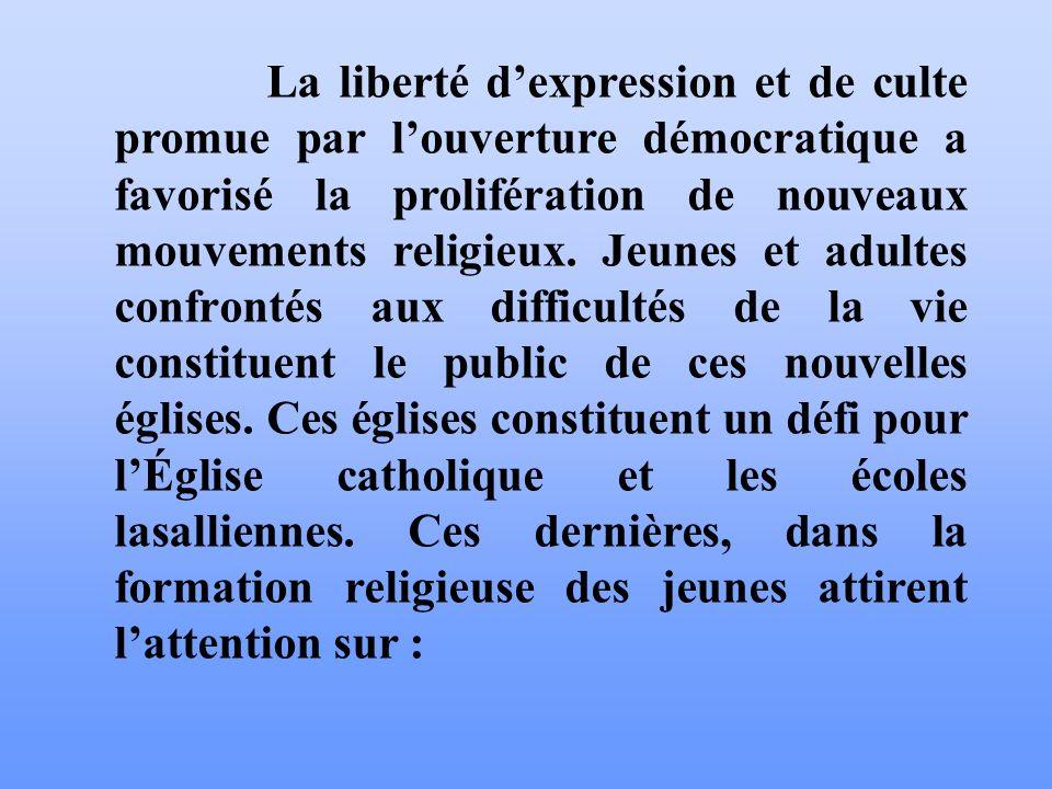 IV- LE CLIMAT RELIGIEUX