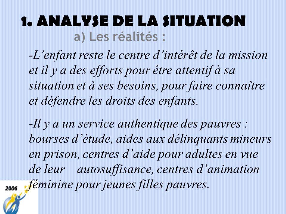 I- MISSION ÉDUCATIVE LASALLIENNE