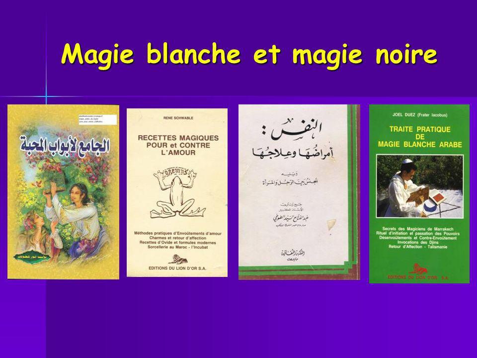 Magie blanche et magie noire