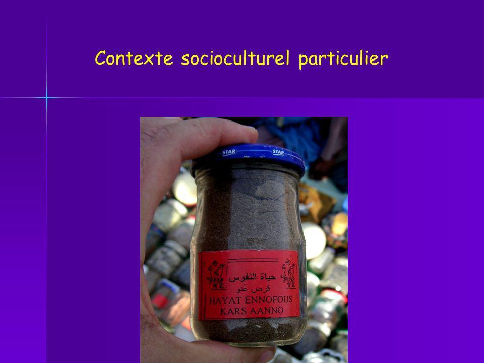 Contexte socioculturel particulier