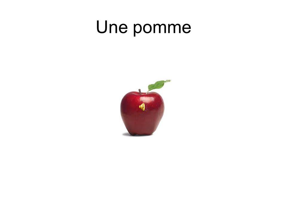 Les fruits Cest Une pomme.Cest une pastèque. Cest une fraise.