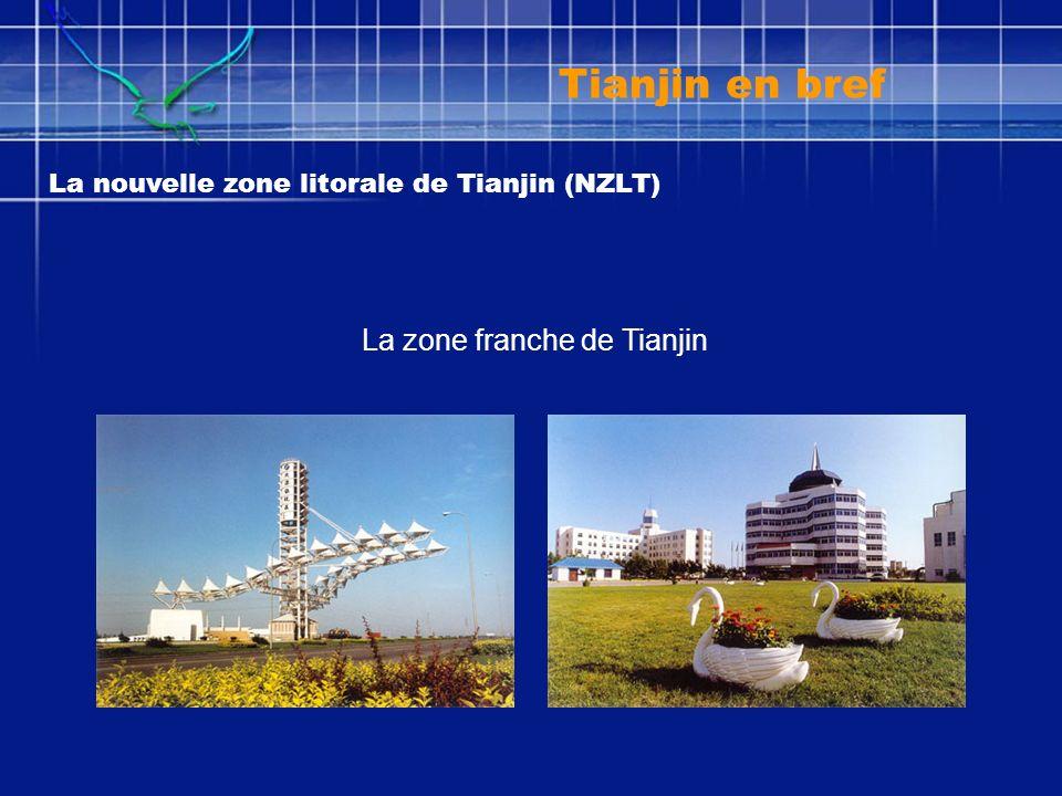 La nouvelle zone litorale de Tianjin (NZLT) La zone franche de Tianjin Tianjin en bref