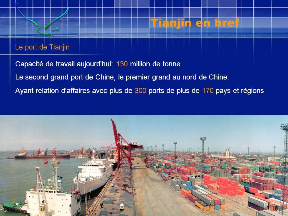 Aéroport international deTianjin Binhai Le centre fret le plus grand au nord de Chine Tianjin en bref