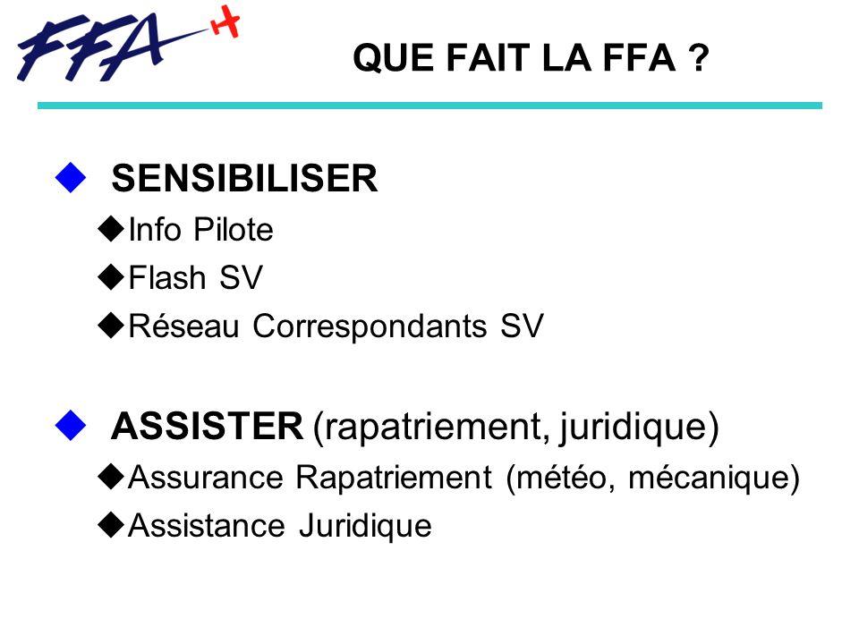 QUE FAIT LA FFA .