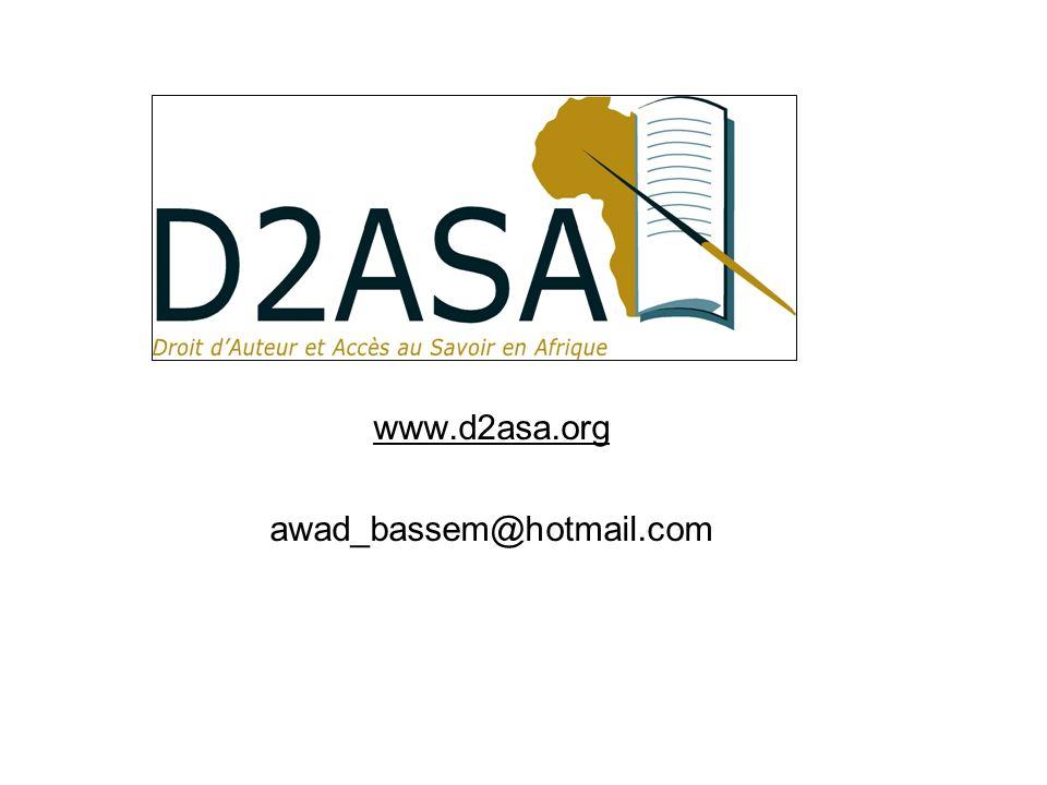 www.d2asa.org awad_bassem@hotmail.com