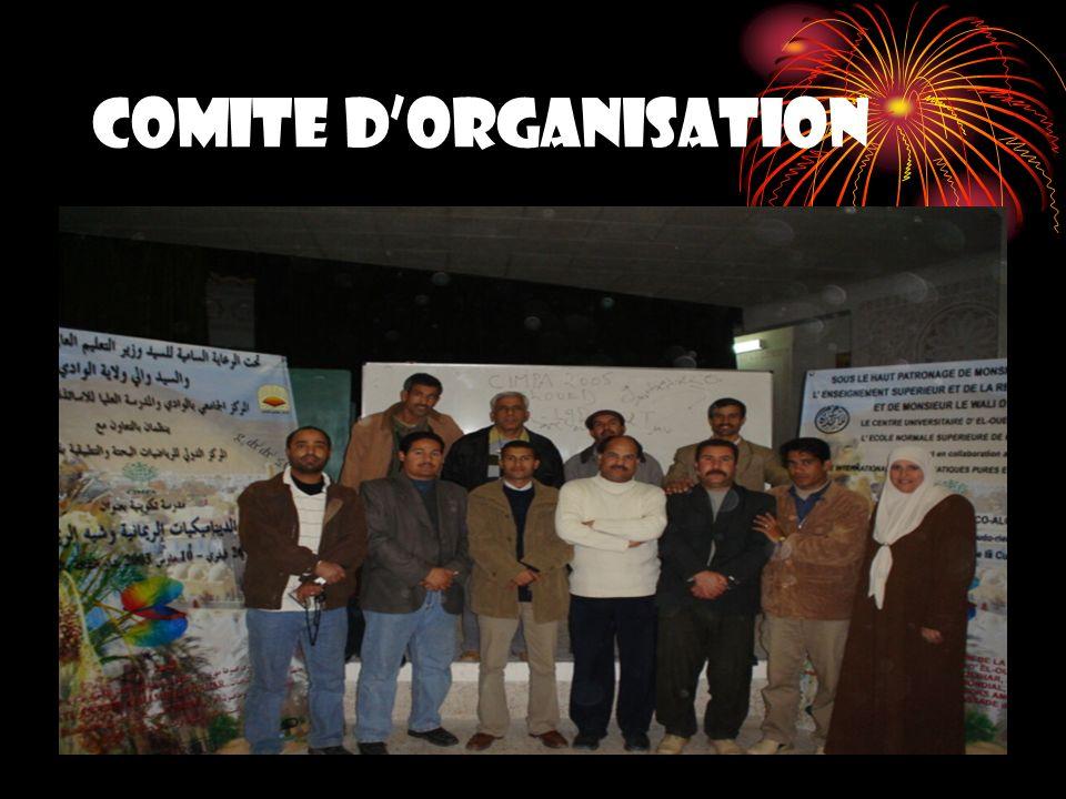 COMITE DORGANISATION