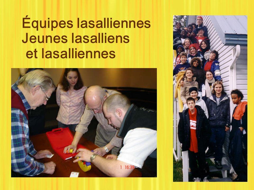 Équipes lasalliennes Jeunes lasalliens et lasalliennes