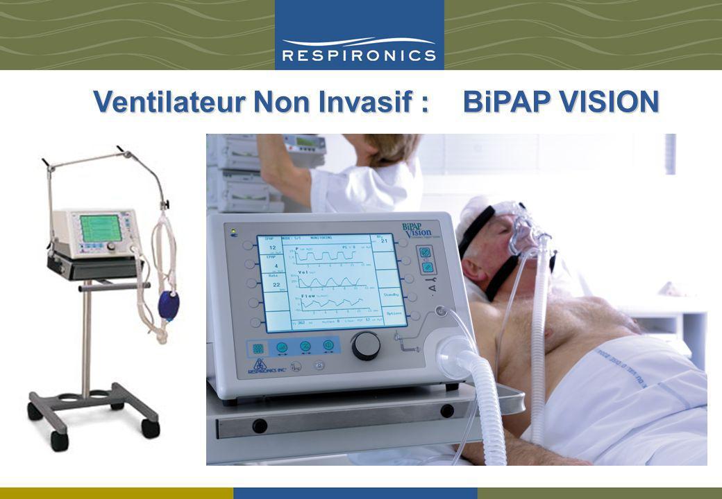 Ventilateur Non Invasif : BiPAP VISION