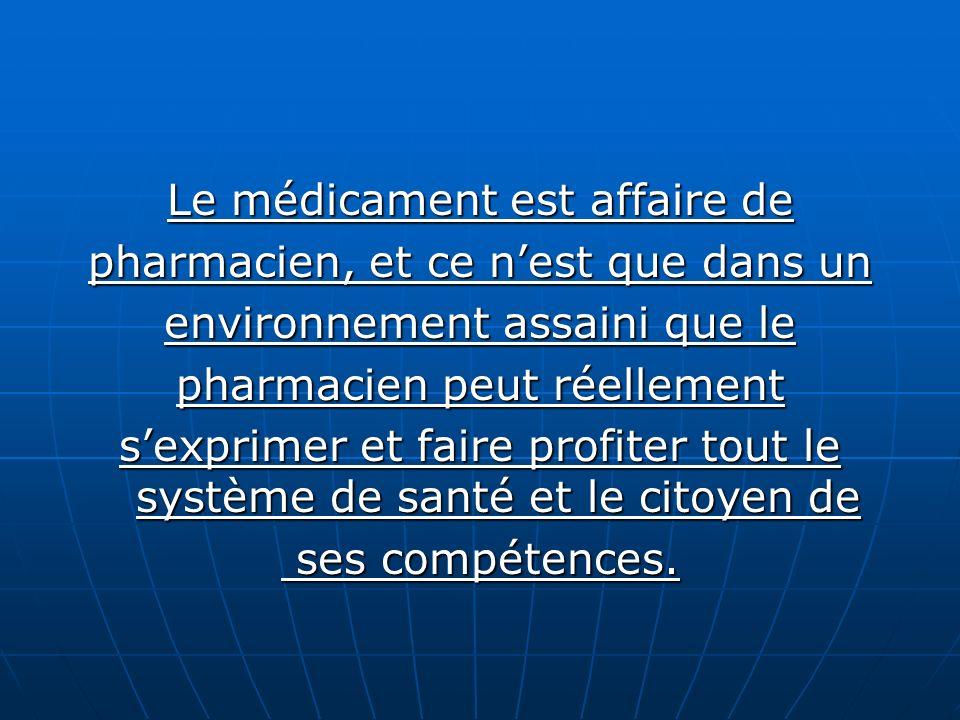 Et là nous devons signaler le rôle important que peut jouer le pharmacien dofficine dans les dépenses : Et là nous devons signaler le rôle important q