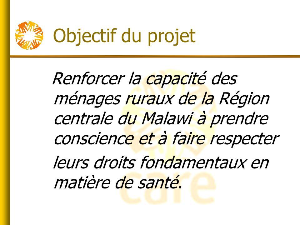 Résultats du projet Création des partenariats avec les services de santé appropriés.