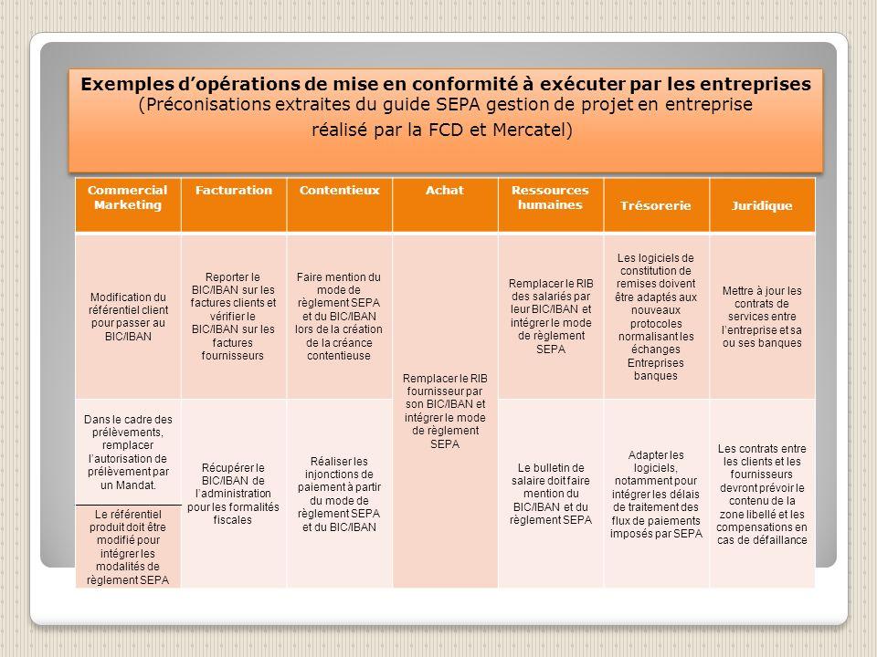 Les PME devront adapter leurs procédures de règlement à SEPA Le degré dadaptation des entreprises et principalement des TPE variera en fonction de leu