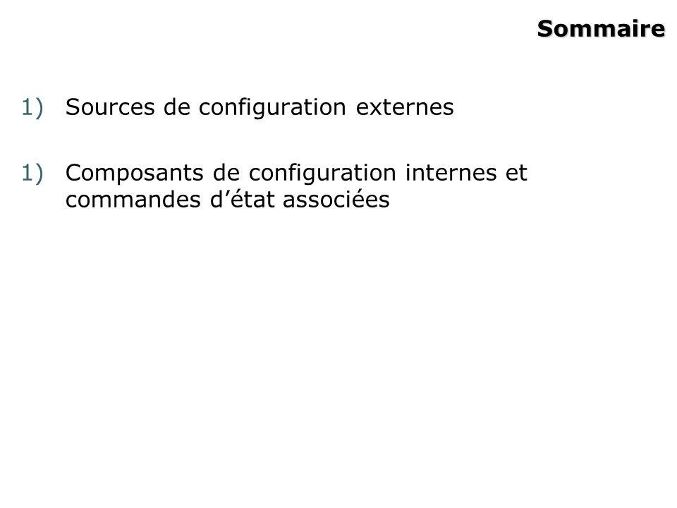 Invites de commande Router (config-router)#Routage Router (config-line)#Ligne Router (config-if)#Interface Router (config)#Configuration globale Router #Privilégié Router >Utilisateur InviteMode