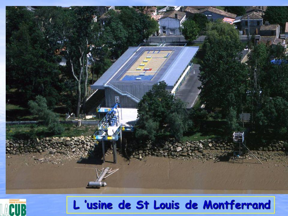 La station de Beaujet La station de Beaujet nReprise de l eau des plans d eau nAlimentation gravitaire de la station de Cantefrène au Nord nAlimentation en pression de la zone Sud
