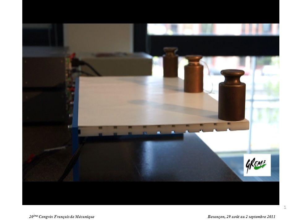 Actionnement de voilures déformables La déformation de la maquette que nous avons à étudier est réalisée à partir dactionneur à mémoire de forme (utilisation dAMF).