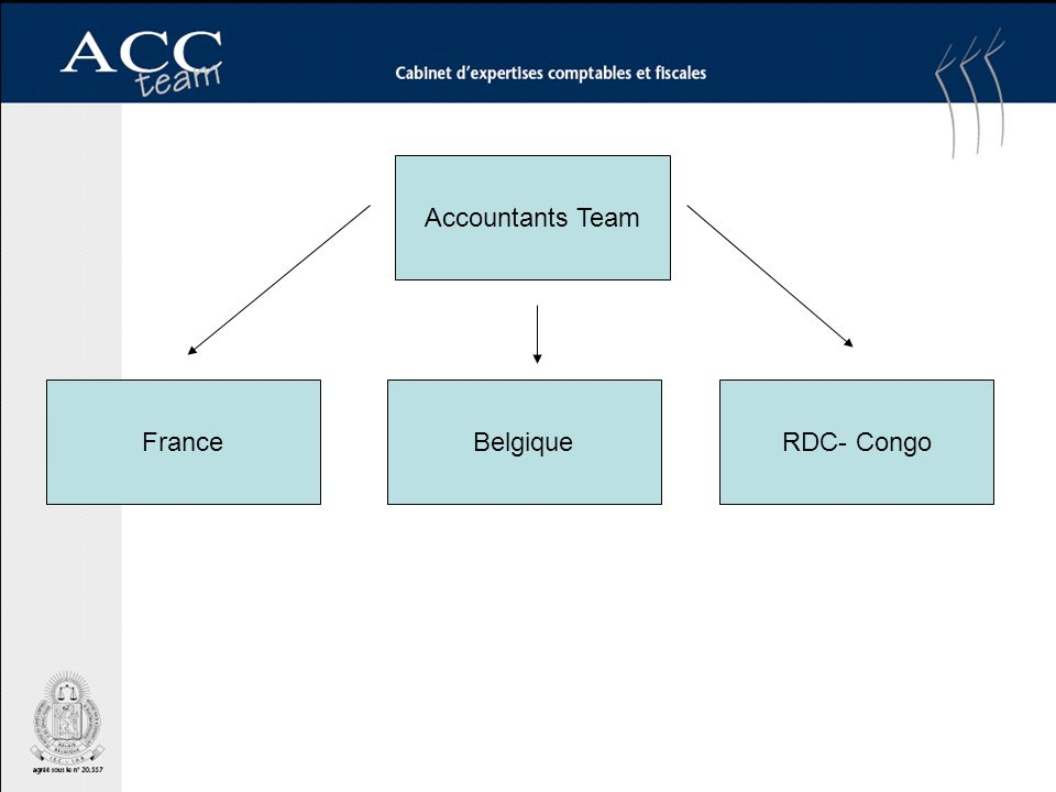 FranceBelgiqueRDC- Congo Accountants Team