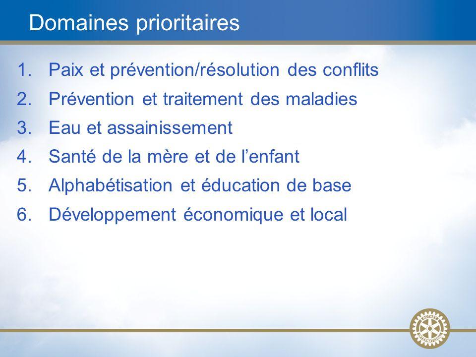 8 Les subventions de district Les subventions mondiales Les subventions