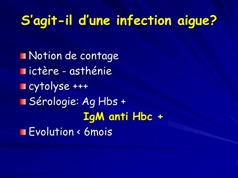 Immuno tolérance Que faut-il faire.- Réaliser une PBF.