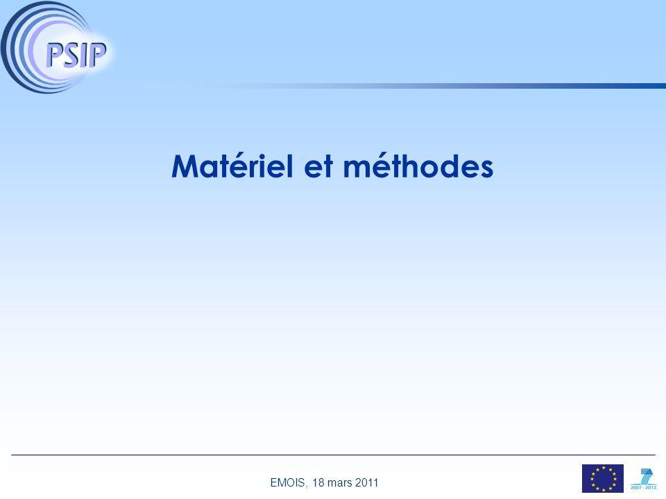 EMOIS, 18 mars 2011 1 Comment les EIM sont-ils habituellement détectés ? EIM=effets indésirables liés aux médicaments Systèmes déclaratifs [1, 2] Biai