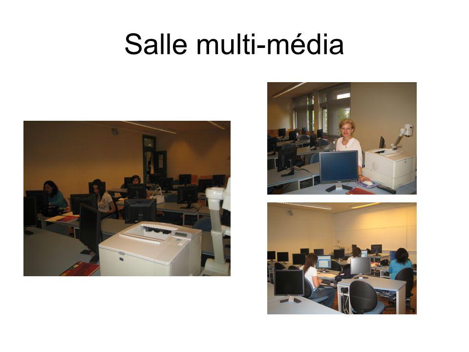Salle multi-média