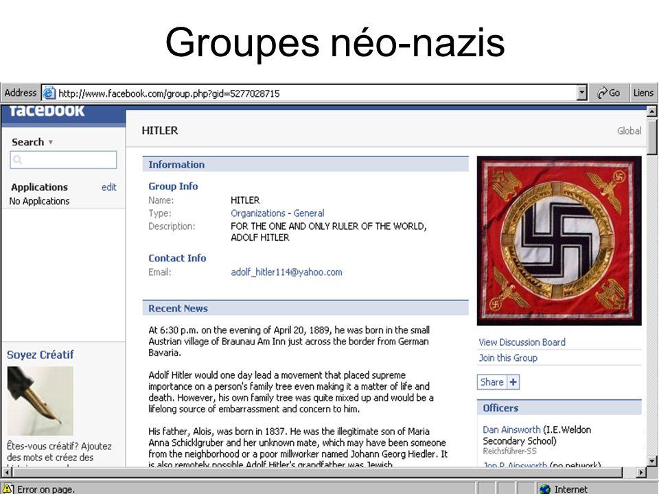 Groupes néo-nazis