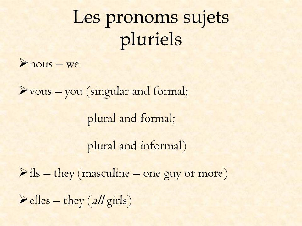 La conjugaison dêtre Être is an irregular verb that must be memorized.