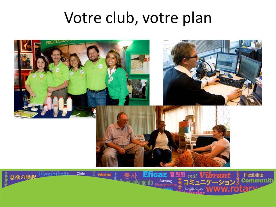 Votre club, votre plan