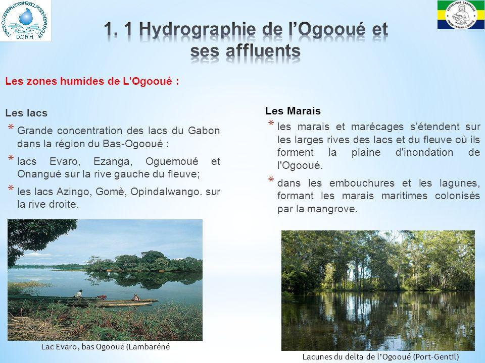 Le régime hydrologique est fortement influencé par un climat à 2 maxima et 2 minima.