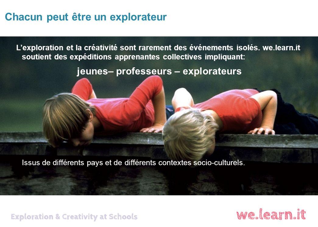 Lexploration et la créativité sont rarement des événements isolés.
