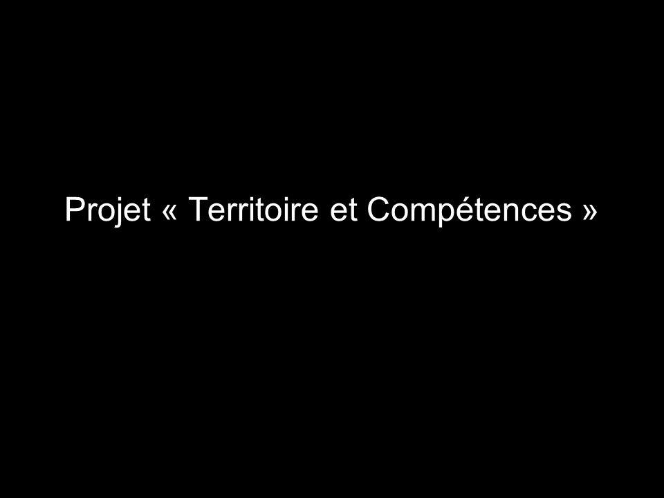 Projet « Territoire et Compétences »