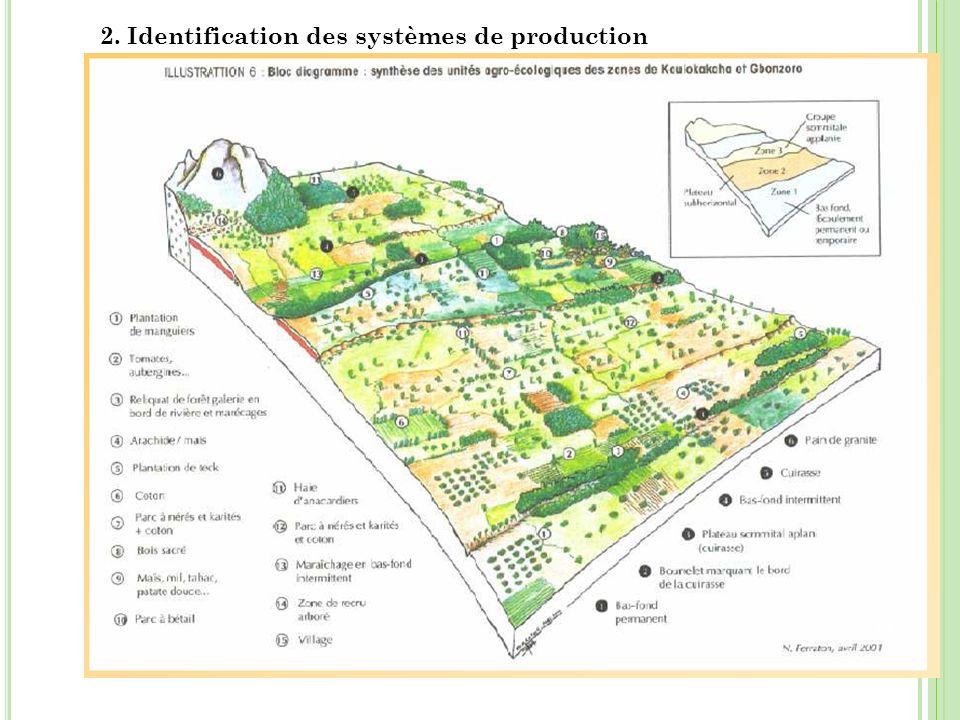 2. Identification des systèmes de production 11