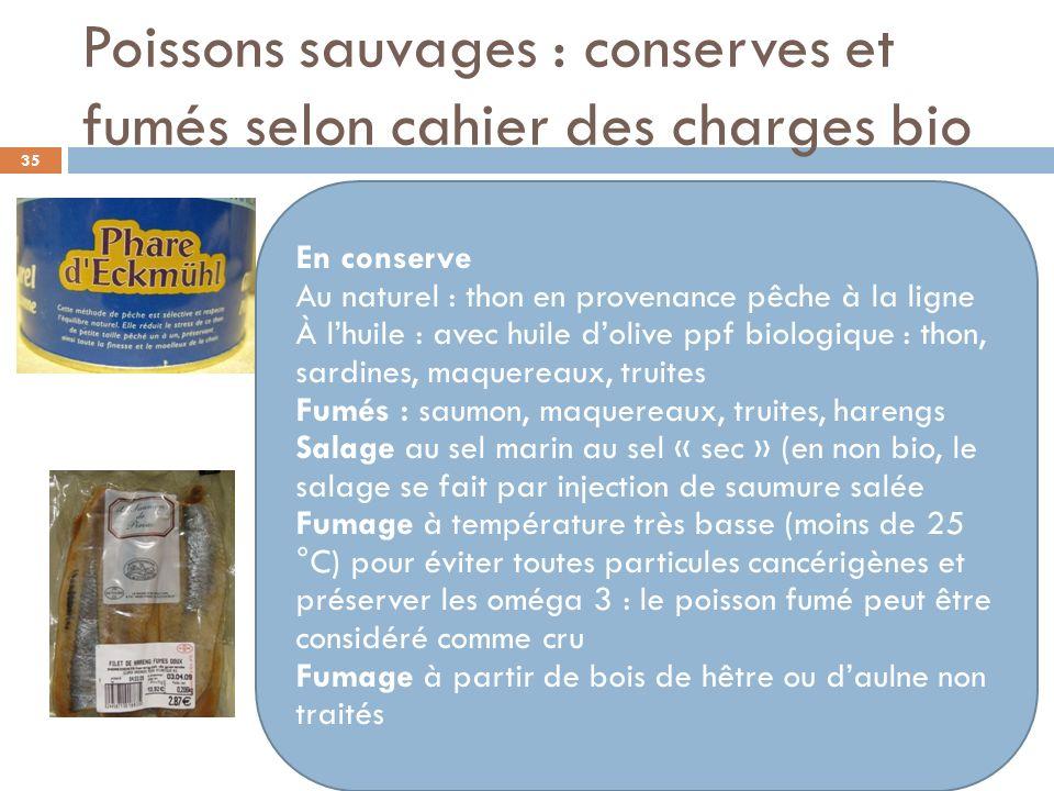 Les fruits séchés et oléagineux Intérêts du bio : Absence de résidus de pesticides Absence de conservateurs allergisants (sulfites) 36