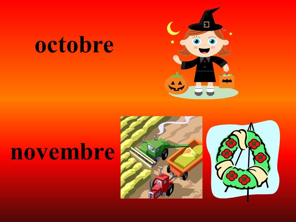 octobre novembre