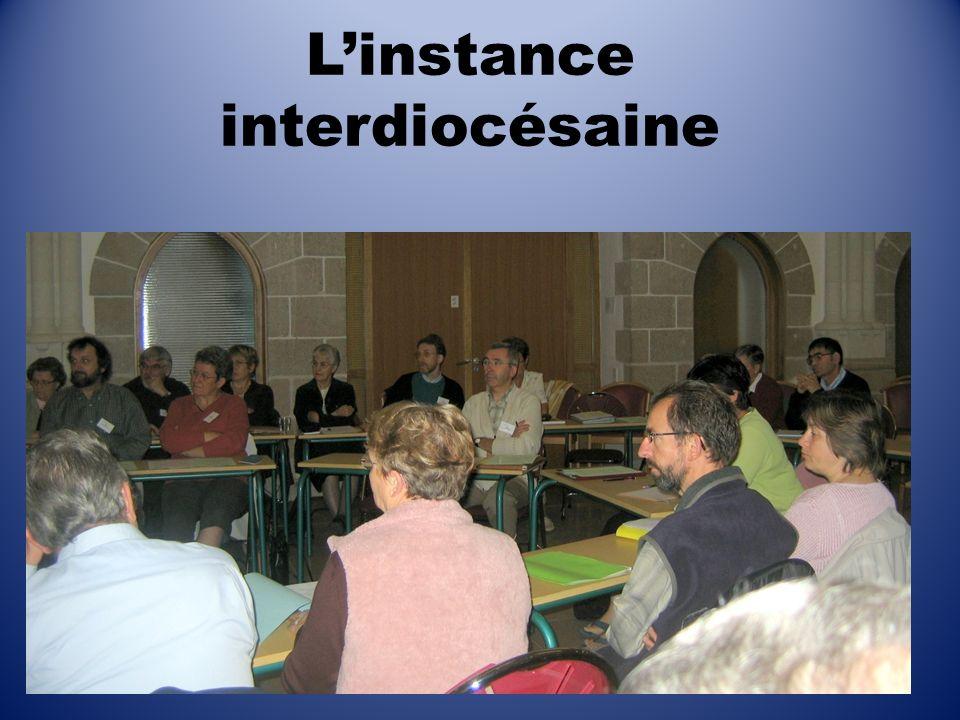 Linstance interdiocésaine