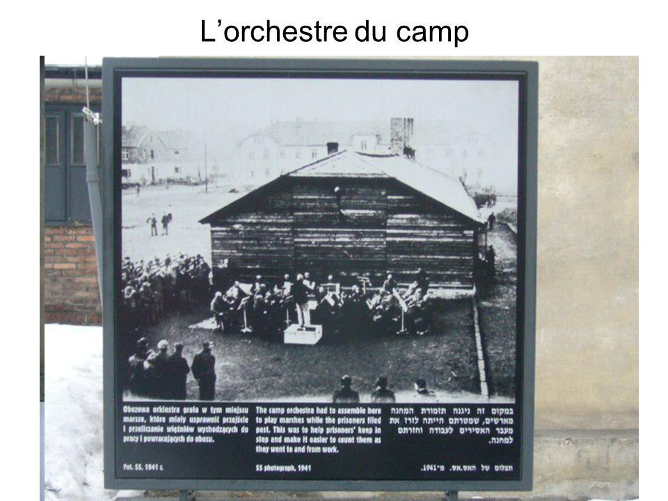 Lorchestre du camp