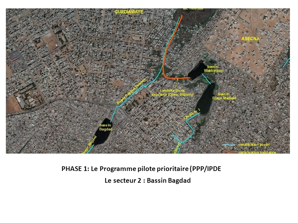 PHASE 1: Le Programme pilote prioritaire (PPP/IPDE Le secteur 2 : Bassin Bagdad