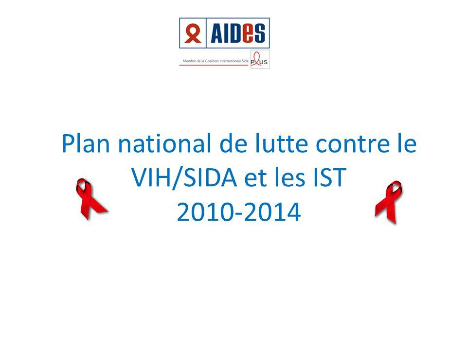 Plan national de lutte contre le VIH/SIDA et les IST 2010-2014