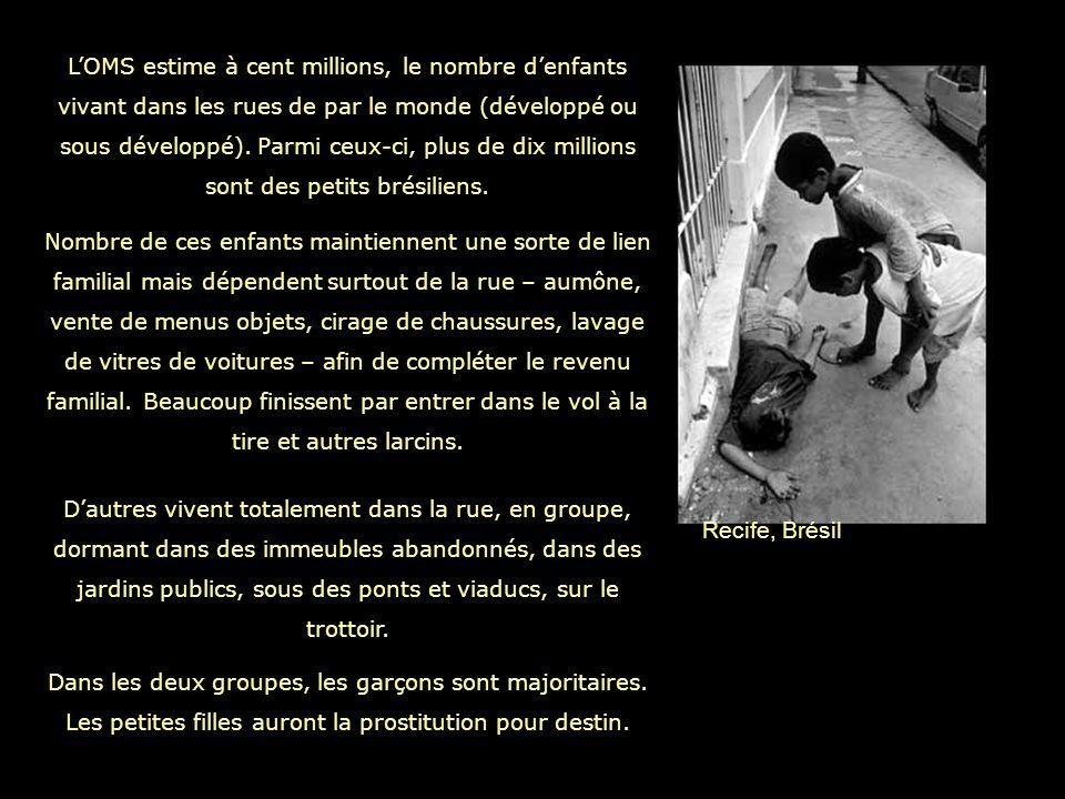 Plus de cent mille filles sont victimes dexploitation sexuelle au Brésil, selon les chiffres de lOrganisation Internationnale du Travail.