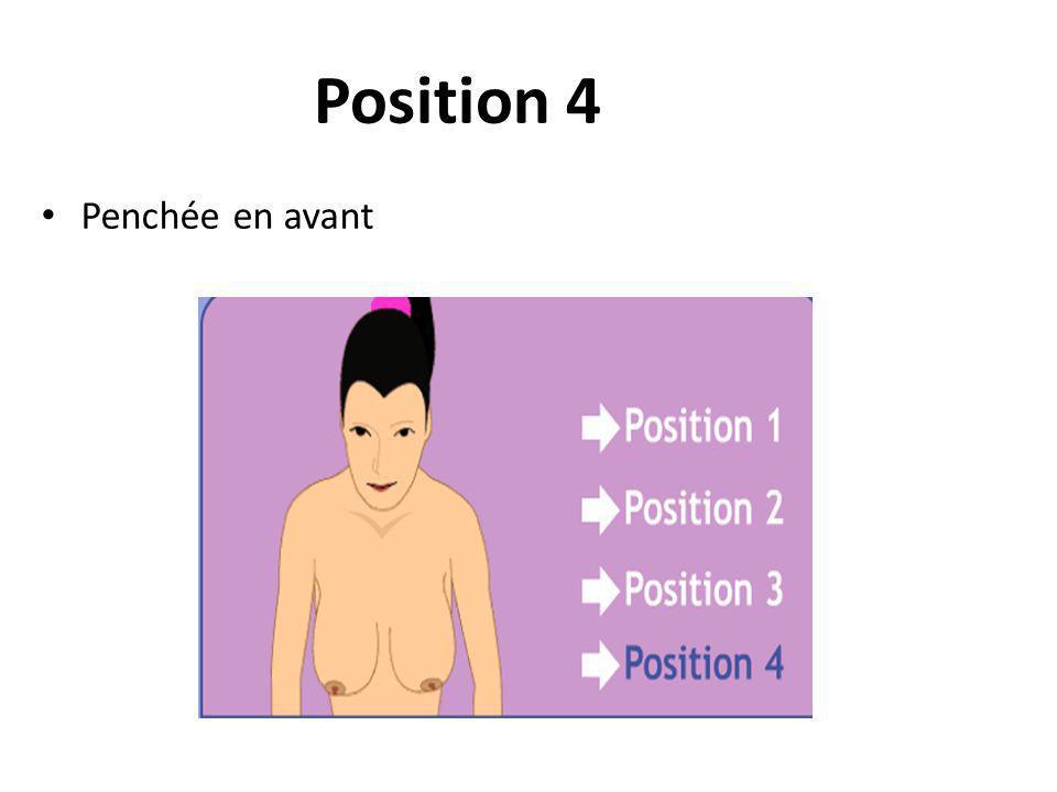 Position 4 Penchée en avant