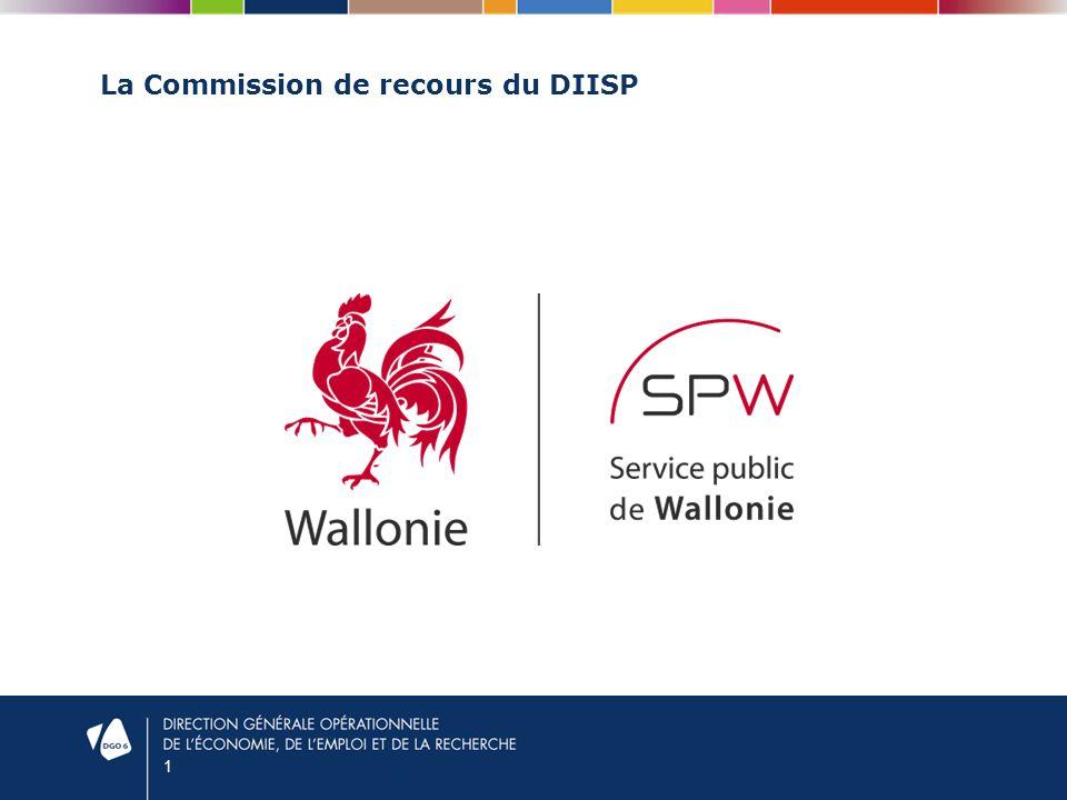 1 La Commission de recours du DIISP