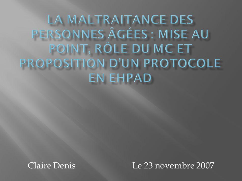 Claire Denis Le 23 novembre 2007