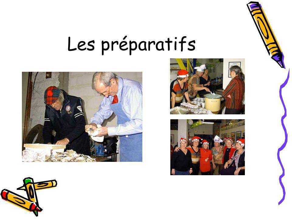 Les préparatifs