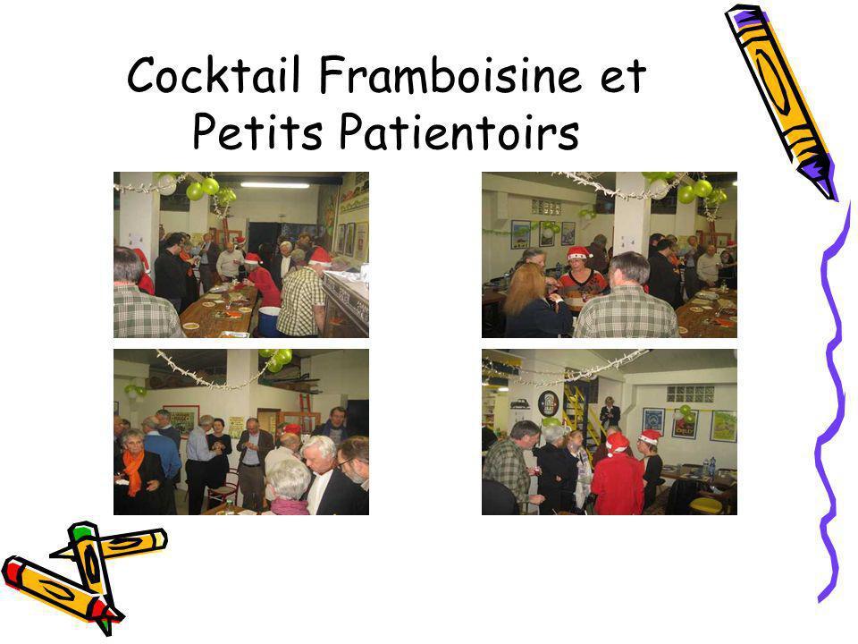 Cocktail Framboisine et Petits Patientoirs