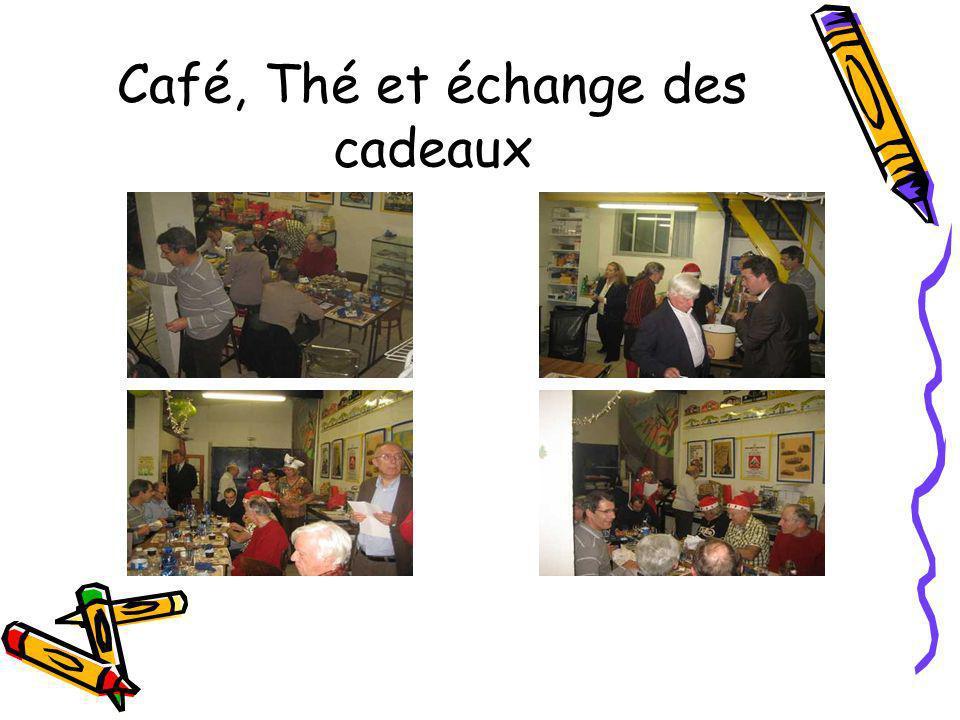 Café, Thé et échange des cadeaux