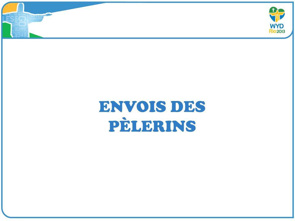 ENVOIS DES PÈLERINS